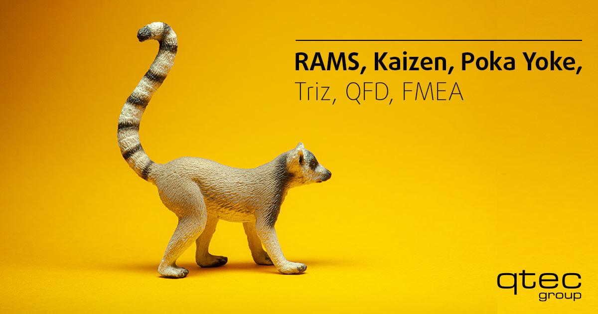 qtec - RAMS, Kaizen, Poka Yoke, Triz, QFD, FMEA
