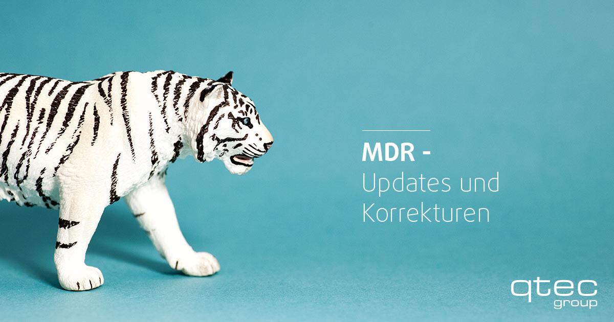 qtec MDR Updates und Korrekturen