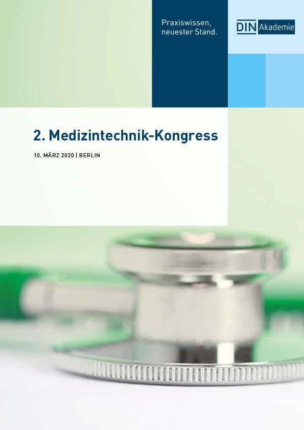 DIN Akademie 2. Medizintechnik Kongress Berlin