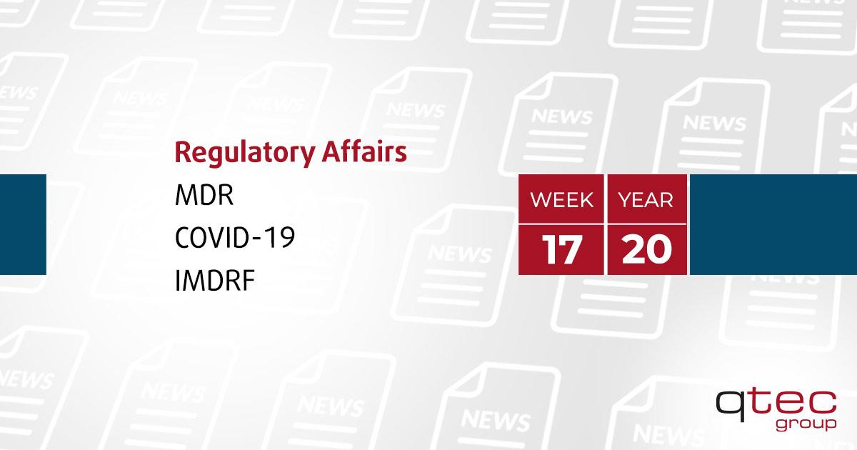 Regulatory Affairs Updates | CW17| qtec-group