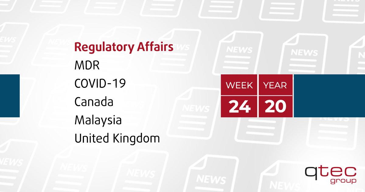 Regulatory Affairs Updates | CW24| qtec-group
