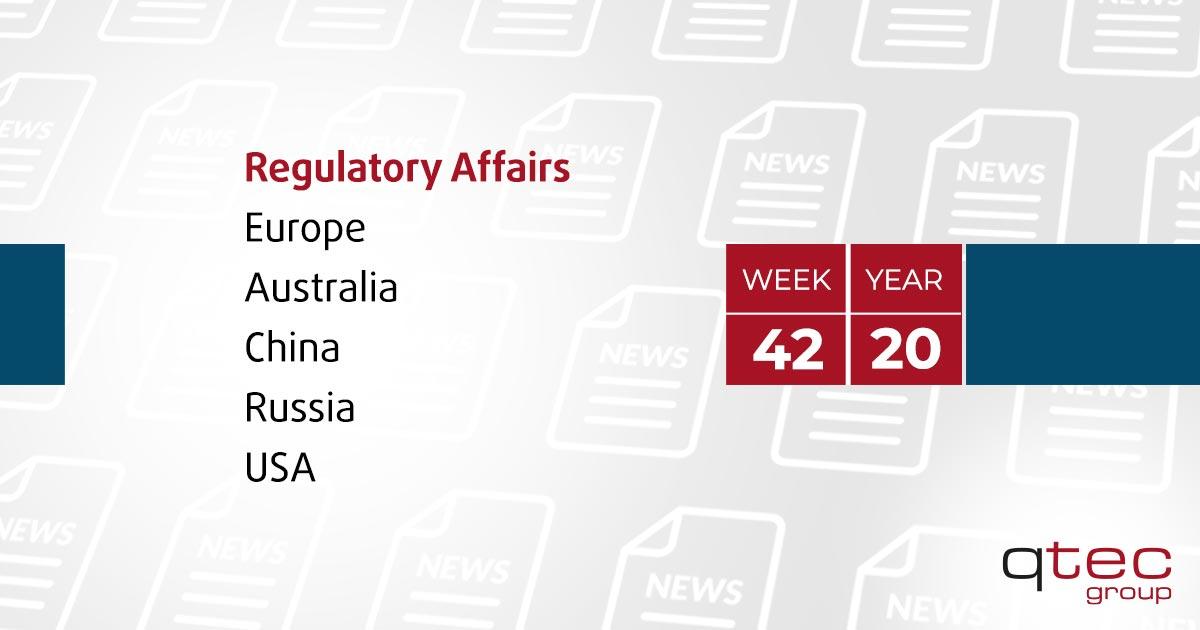 Regulatory Affairs Updates   CW42  qtec-group