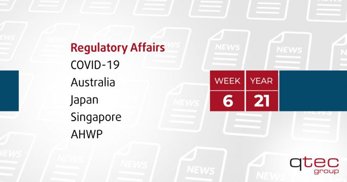 Regulatory Affairs Updates | CW06| qtec-group