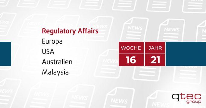 qtec group | Regulatory Affairs Update KW16| qtec-group
