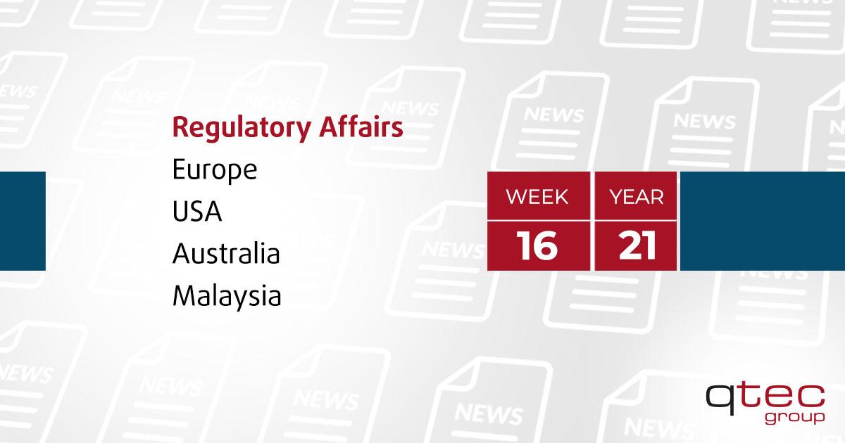 qtec group | Regulatory Affairs Update KW16 En| qtec-group