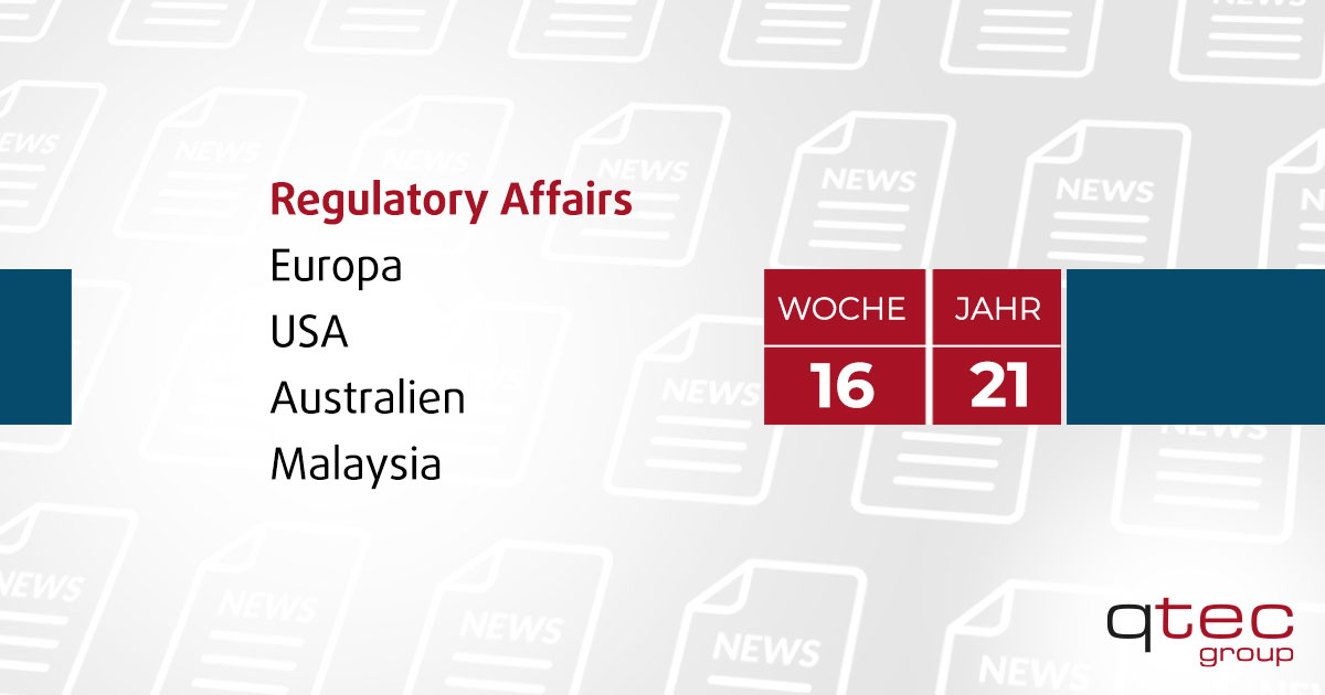 qtec group   Regulatory Affairs Update KW16  qtec-group