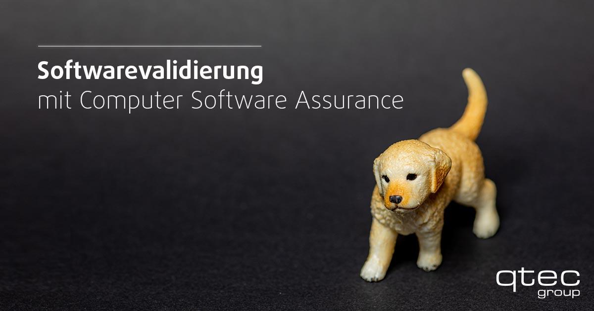 Softwarevalidierung mit Computer Software Assurance Blogbeitrag  qtec-group