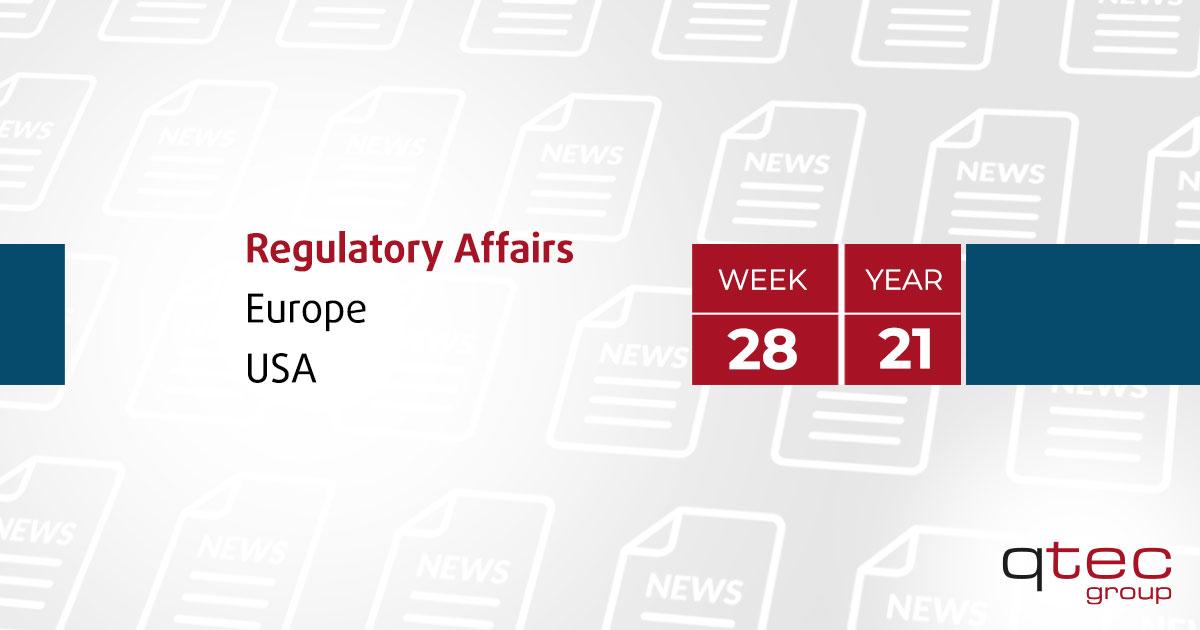 qtec group   Regulatory Affairs Update CW28/21 en  qtec-group
